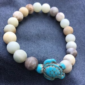 Jewelry - TURTLE BEADED BRACELET